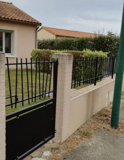 Clôture et portillon en métal à Mauléon, Cholet, Bressuire, Les Herbiers - SG Métal