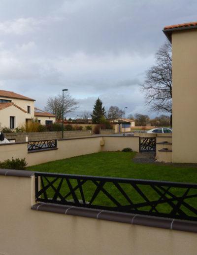 Clôture en métal à Mauléon, Cholet, Bressuire, Les Herbiers - SG Métal