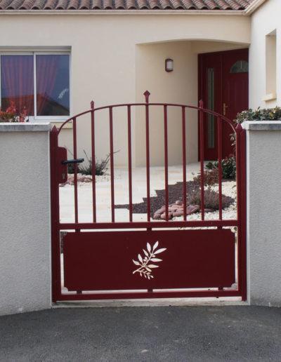 Portillon en métal à Mauléon, Cholet, Bressuire, Les Herbiers - SG Métal