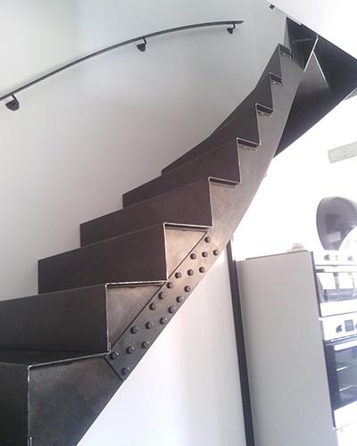 Escalier en métal - SG Métal